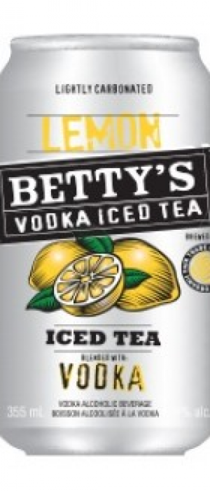 Betty's Lemon Vodka Iced Tea
