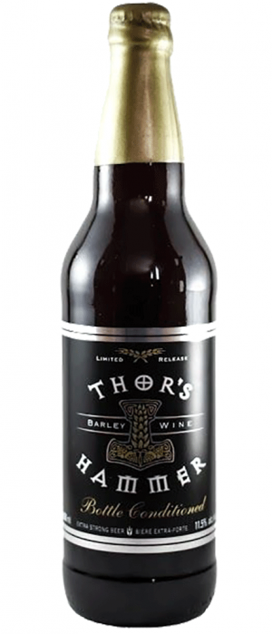 Bottle Conditioned Thor's Hammer Barley Wine