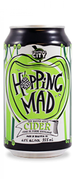 Hopping Mad Cider by Central City Brewers & Distillers in British Columbia, Canada