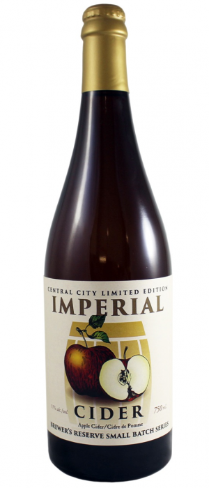 Imperial Cider by Central City Brewers & Distillers in British Columbia, Canada