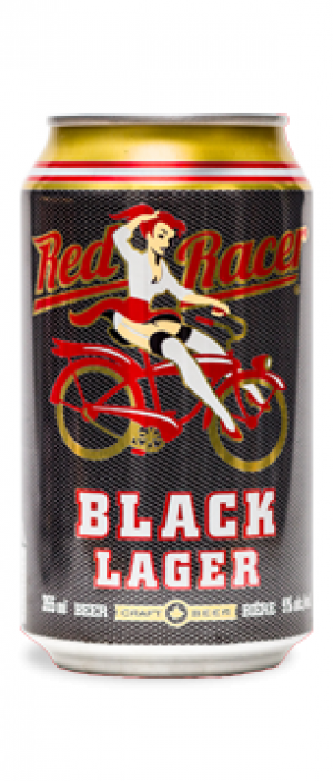 Red Racer Black Lager by Central City Brewers & Distillers in British Columbia, Canada