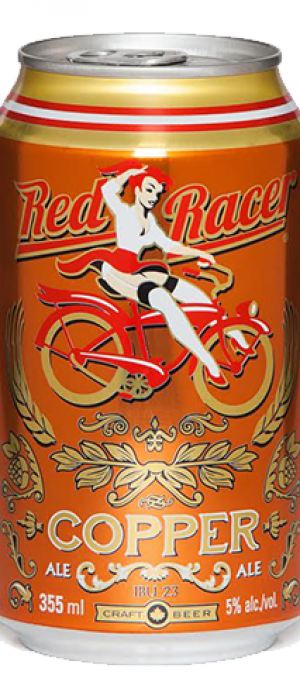 Red Racer Copper Ale by Central City Brewers & Distillers in British Columbia, Canada