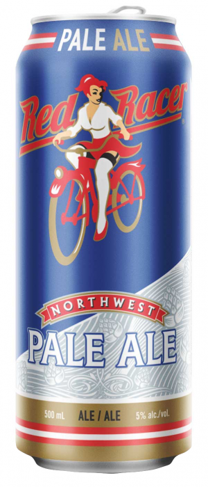 Red Racer Northwest Pale Ale by Central City Brewers & Distillers in British Columbia, Canada
