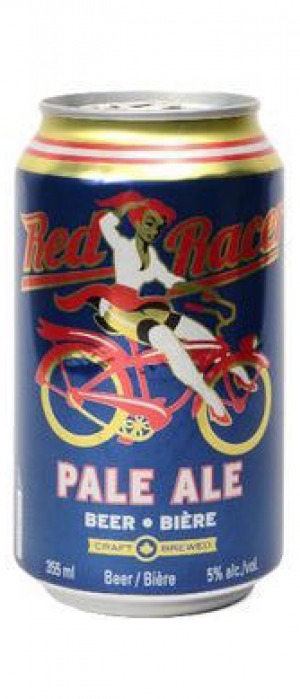 Red Racer Pale Ale by Central City Brewers & Distillers in British Columbia, Canada