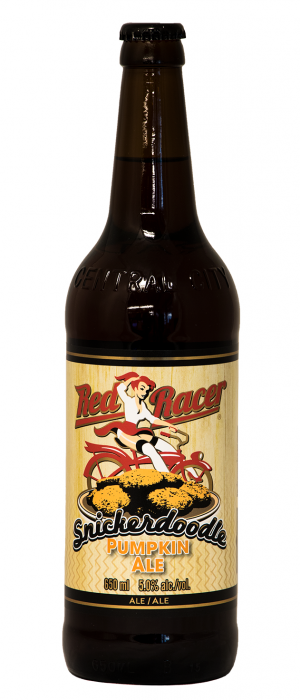 Red Racer Snickerdoodle Pumpkin Ale by Central City Brewers & Distillers in British Columbia, Canada