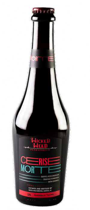 Cerise Morte by Wicked Weed Brewing in North Carolina, United States