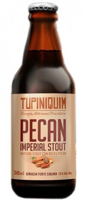 Pecan Imperial Stout by Cervejaria Tupiniquim in Rio Grande do Sul, Brazil