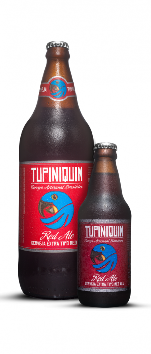 Red Ale by Cervejaria Tupiniquim in Rio Grande do Sul, Brazil