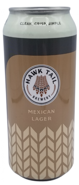 Cerveza Mexican Lager by Hawk Tail Brewery in Alberta, Canada