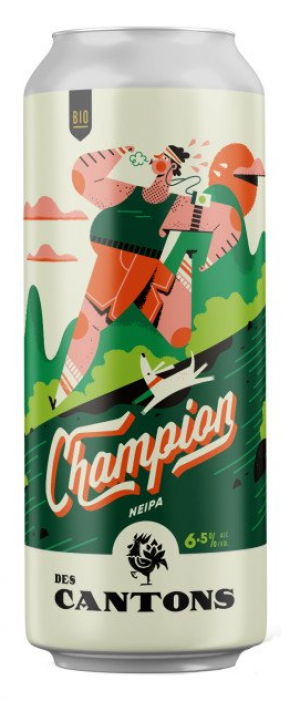 Champion NEIPA by Ferme Brassicole des Cantons in Québec, Canada