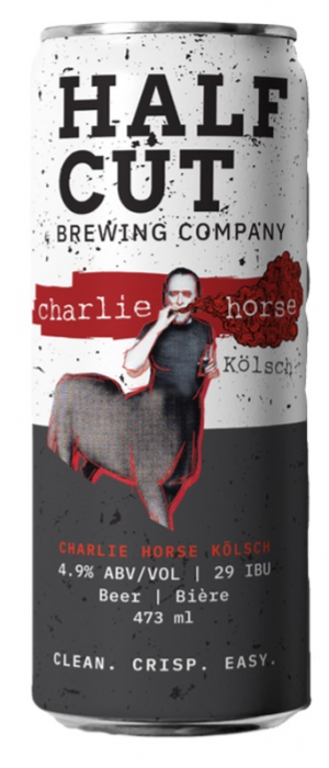 Charlie Horse by Half Cut Brewing in New Brunswick, Canada