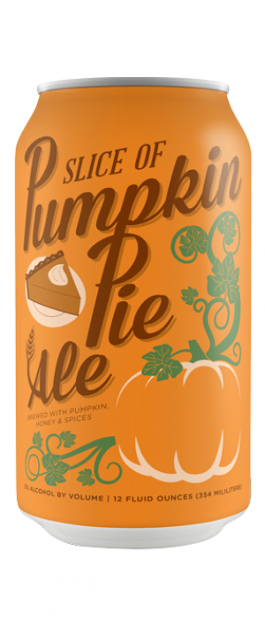 Slice of Pumpkin Pie Ale by Chelsea Craft Brewing Company in New York, United States