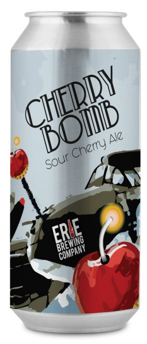 Cherry Bomb Sour Cherry Ale by Erie Brewing Company in Pennsylvania, United States