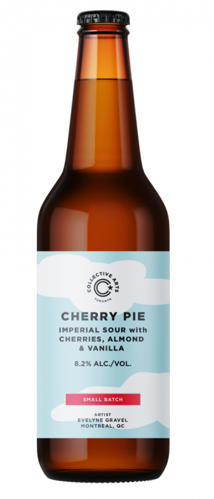 Cherry Pie Imperial Sour by Collective Arts Brewing in Ontario, Canada