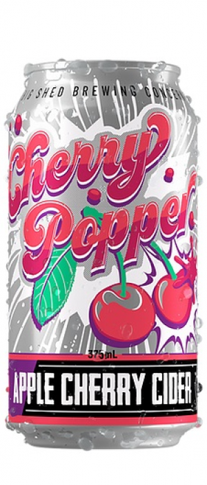 Cherry Popper by Big Shed Brewing Co. in South Australia, Australia