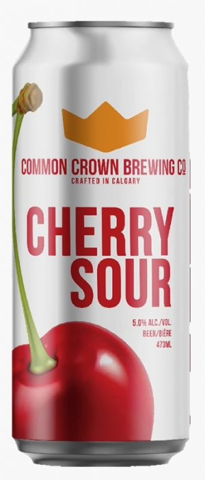 Cherry Sour by Common Crown Brewing Co. in Alberta, Canada