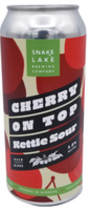 Cherry On Top Kettle Sour by Snake Lake Brewing Company in Alberta, Canada