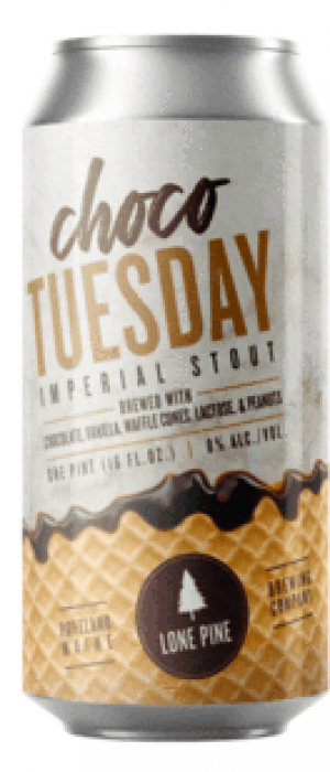 Choco Tuesday by Lone Pine Brewing Company in Maine, United States