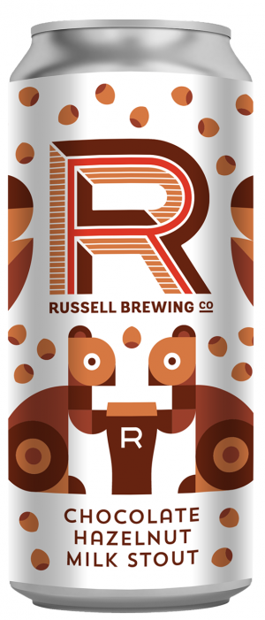 Chocolate Hazelnut Milk Stout by Russell Brewing Company in British Columbia, Canada