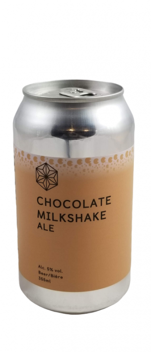 Chocolate Milkshake Ale by Spectrum Beer Company in British Columbia, Canada
