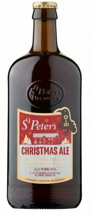 Christmas Ale by St. Peter's Brewery in Suffolk - England, United Kingdom