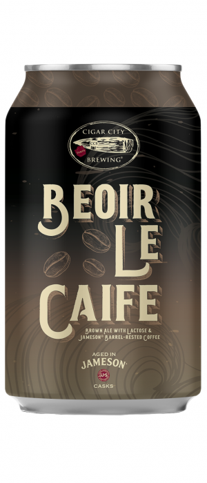 Beoir Le Caife by Cigar City Brewing Company in Florida, United States