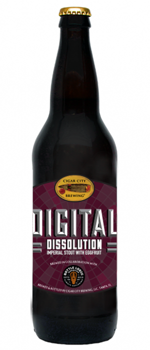 Bottle Logic Digital Dissolution by Cigar City Brewing Company in Florida, United States