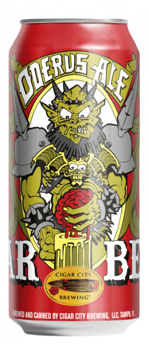 GWAR Beer Oderus Ale by Cigar City Brewing Company in Florida, United States