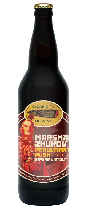 Marshal Zhukov's Penultimate Push by Cigar City Brewing Company in Florida, United States