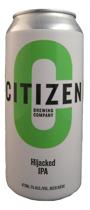 Hijacked IPA by Citizen Brewing Company in Alberta, Canada