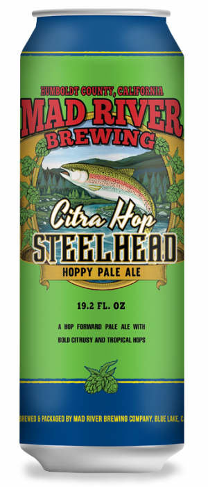 Citra Hop Steelhead Pale Ale by Red River Brewing in Louisiana, United States