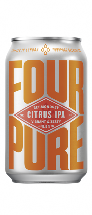 Citrus IPA by Fourpure Brewing Co. in London - England, United Kingdom