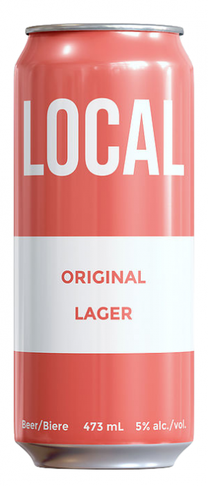 Original Local Lager by Original Local Beers in Ontario, Canada