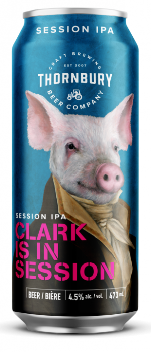 Clark Is In Session by Thornbury Village Cidery & Brewery in Ontario, Canada