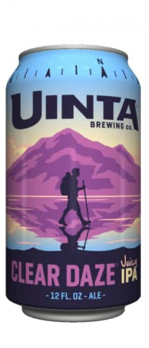 Clear Daze Juicy IPA by Uinta Brewing Company in Utah, United States