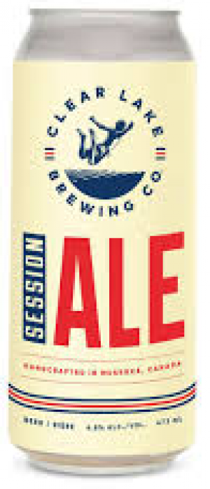 Clear Lake Session Ale by Clear Lake Brewing Co. in Ontario, Canada