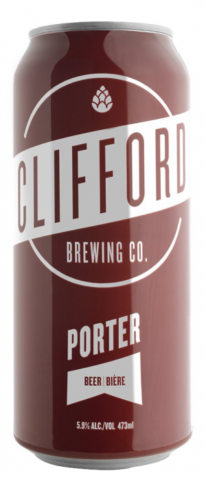 Clifford Porter by Clifford Brewing Co. in Ontario, Canada
