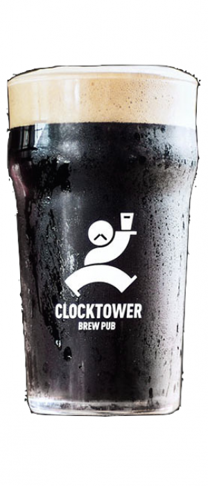 Oyster Stout by Clocktower Brew Pub in Ontario, Canada