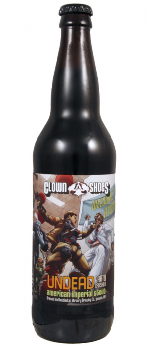 Undead Party Crasher by Clown Shoes Beer in Massachusetts, United States
