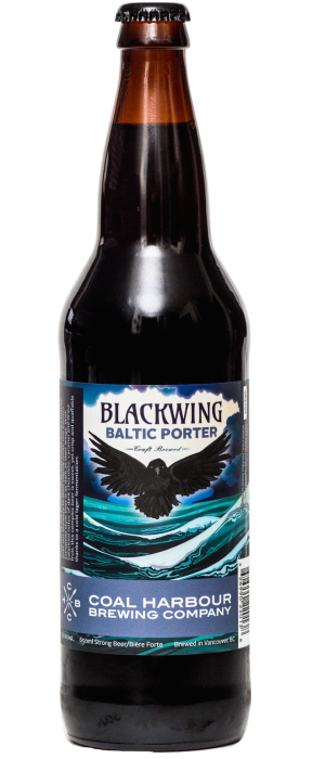 Blackwing Baltic Porter by Coal Harbour Brewing Company in British Columbia, Canada