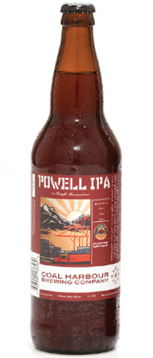 Powell IPA by Coal Harbour Brewing Company in British Columbia, Canada