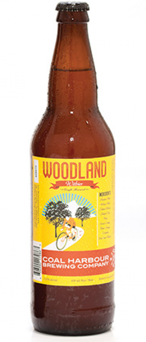 Woodland Witbier by Coal Harbour Brewing Company in British Columbia, Canada