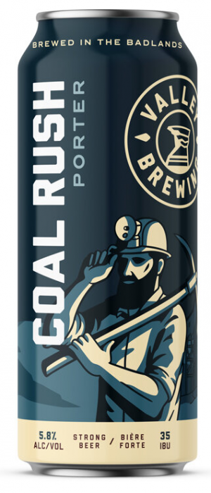 Coal Rush by Valley Brewing in Alberta, Canada