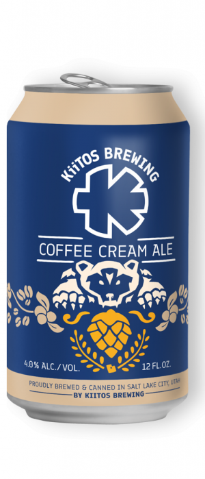 Coffee Cream Ale by Kiitos Brewing in Utah, United States