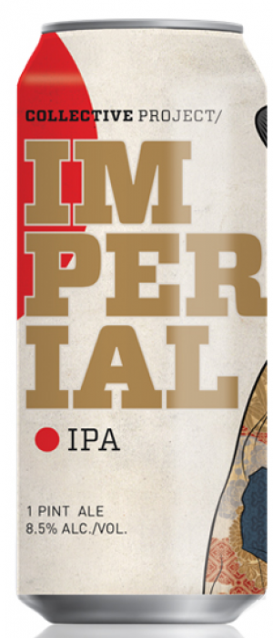 Imperial IPA by Collective Arts Brewing in Ontario, Canada