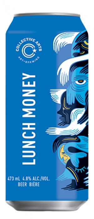 Lunch Money by Collective Arts Brewing in Ontario, Canada
