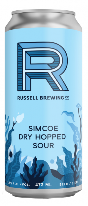 Simcoe Dry Hopped Sour by Russell Brewing Company in British Columbia, Canada