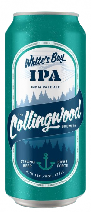 White's Bay IPA by The Collingwood Brewery in Ontario, Canada