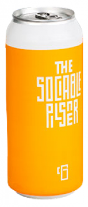The Sociable Pilsner by Common Good Beer Company in Ontario, Canada