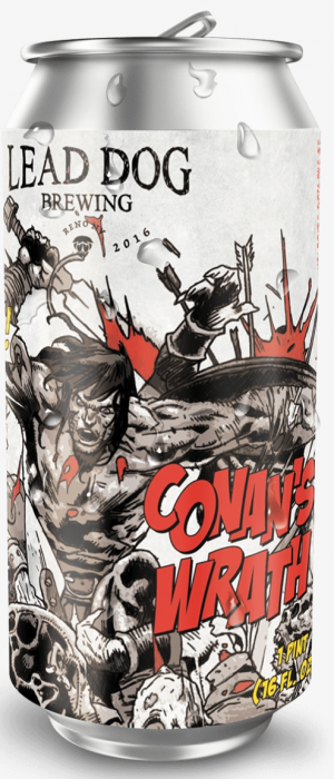 Conan's Wrath by Lead Dog Brewing in Nevada, United States